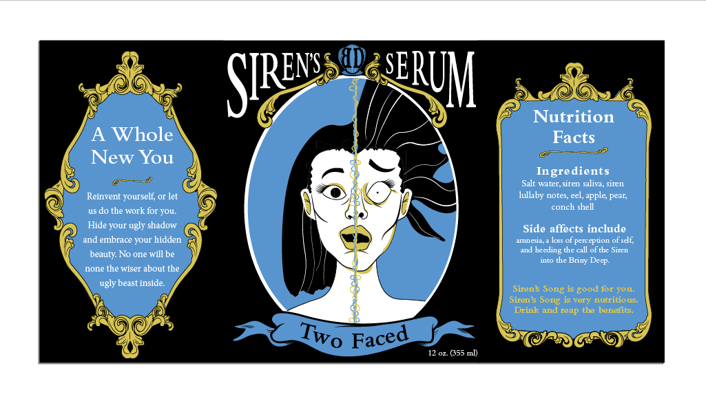 Siren's Serum Magic Drink Branding on Behance