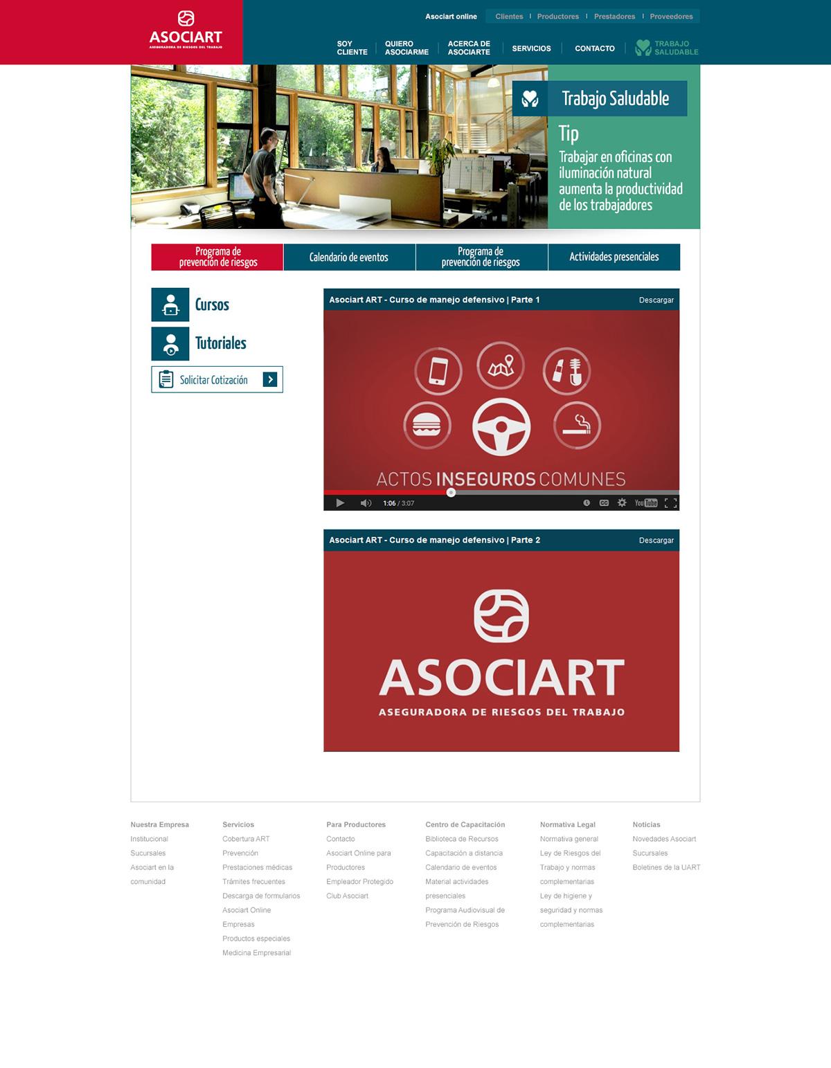 asociart art labor risk insurance