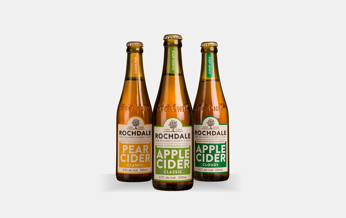 Rochdale Cider On Behance Pure It Classic Another Product From Mccashins Brewery In Nelson Wasnt Getting The Attention Deserved