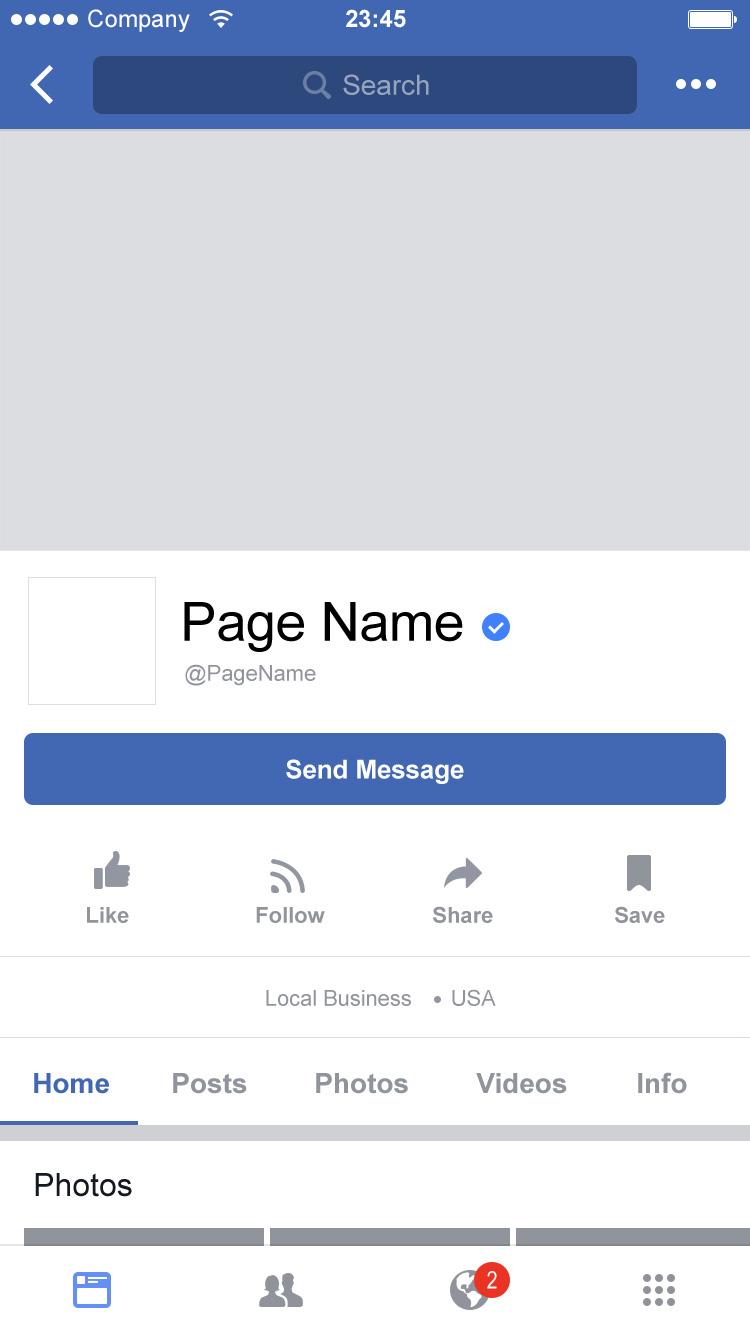 Mobile page login facebook home Get Facebook