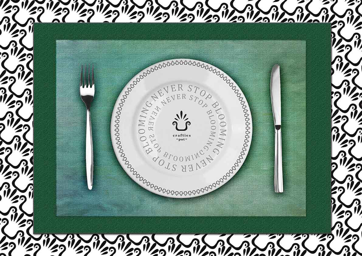 plate utensils Print on demand brand Gadget logo tie Business Cards hand fan decoration greeting card Easter Christmas revamp home decor