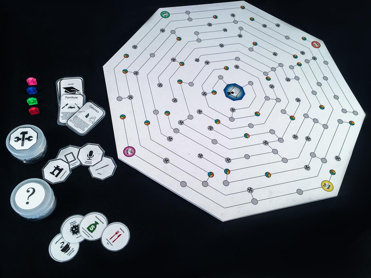 Board Game Design On RISD Portfolios - Board game design
