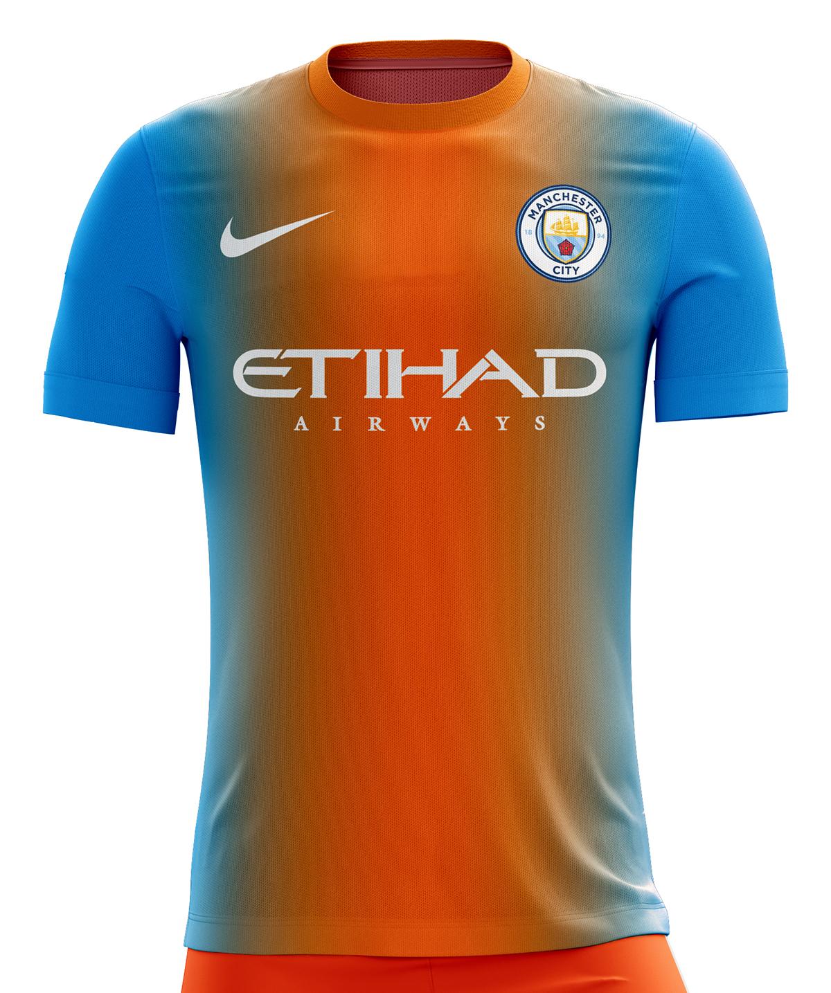 136a296f761 Manchester City Football Kit 16/17. on Behance