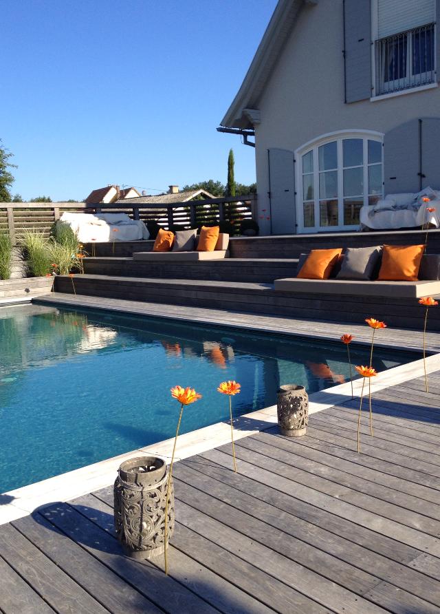 Laure flesch for Chauffer piscine naturelle