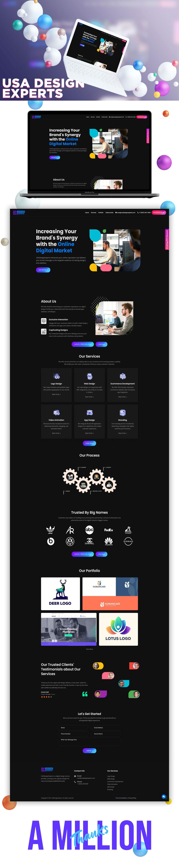 landingpage UI/UX Website