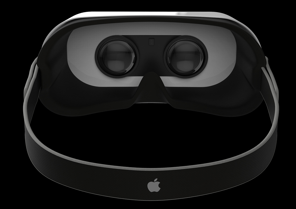apple vr vertual reality iphone airpuds design Smart
