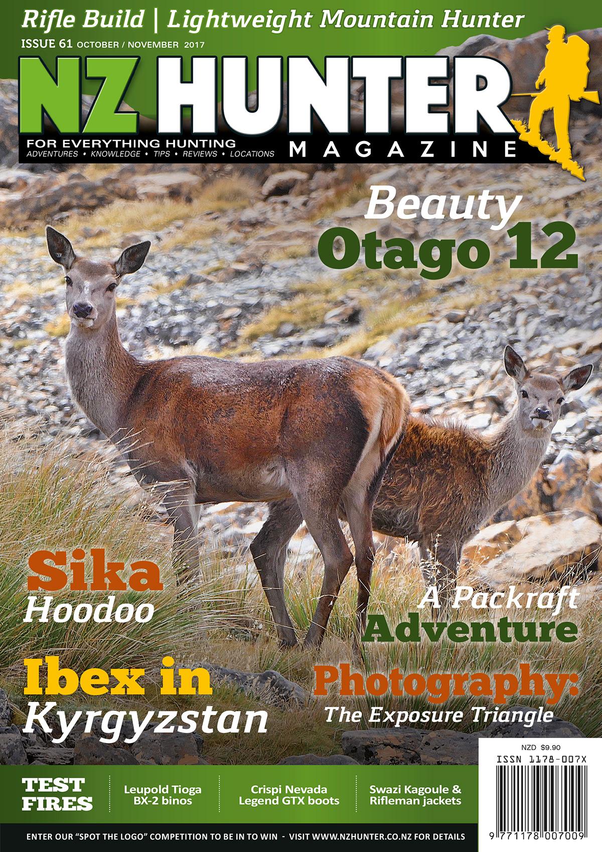 NZ Hunter Magazine on Behance