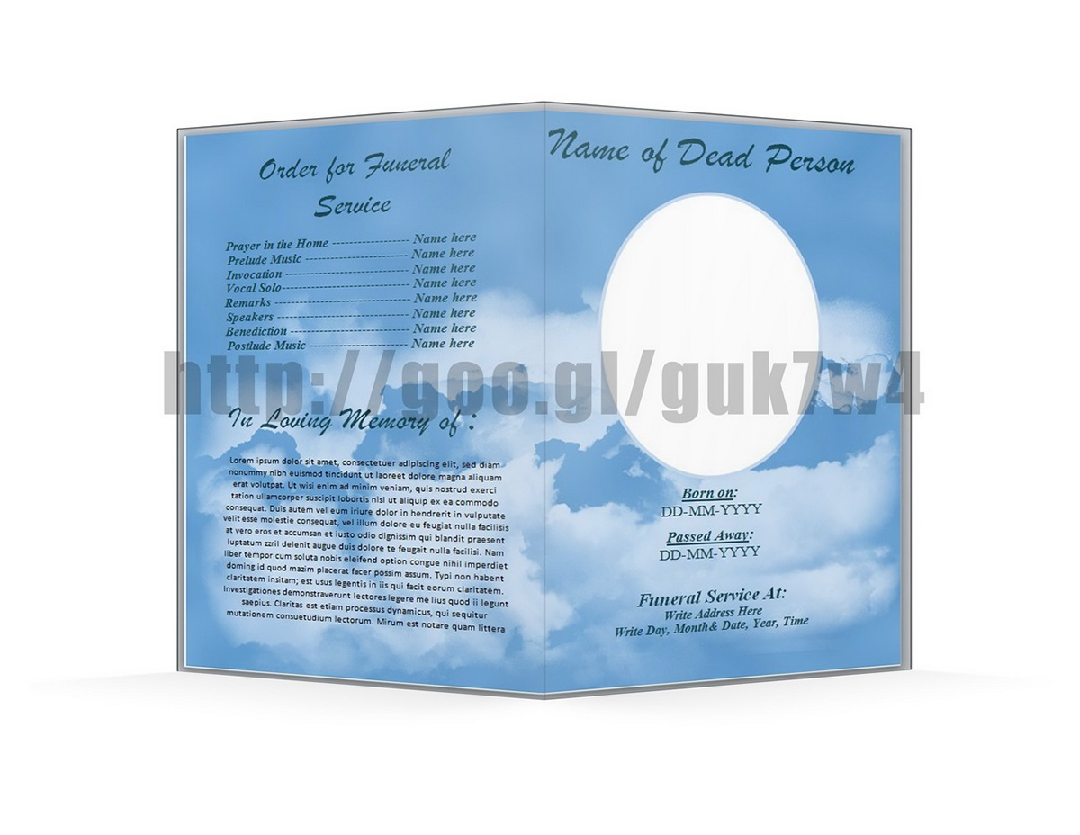 Free microsoft office funeral program template download on for Free editable funeral program template microsoft word