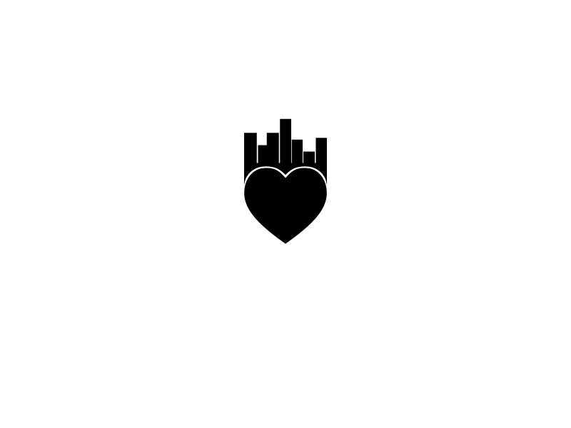 logo community Love neighbors Urban heart cooperate lovingcommunity
