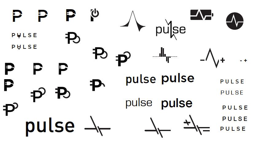 pulse ev charging network branding on behance