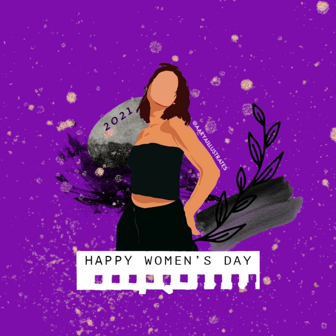 Digital Art ,digital painting,Empower Women,ILLUSTRATION ,women,women's day,Empowering Women,strong woman,girl illustration,Girl Power,graphic design