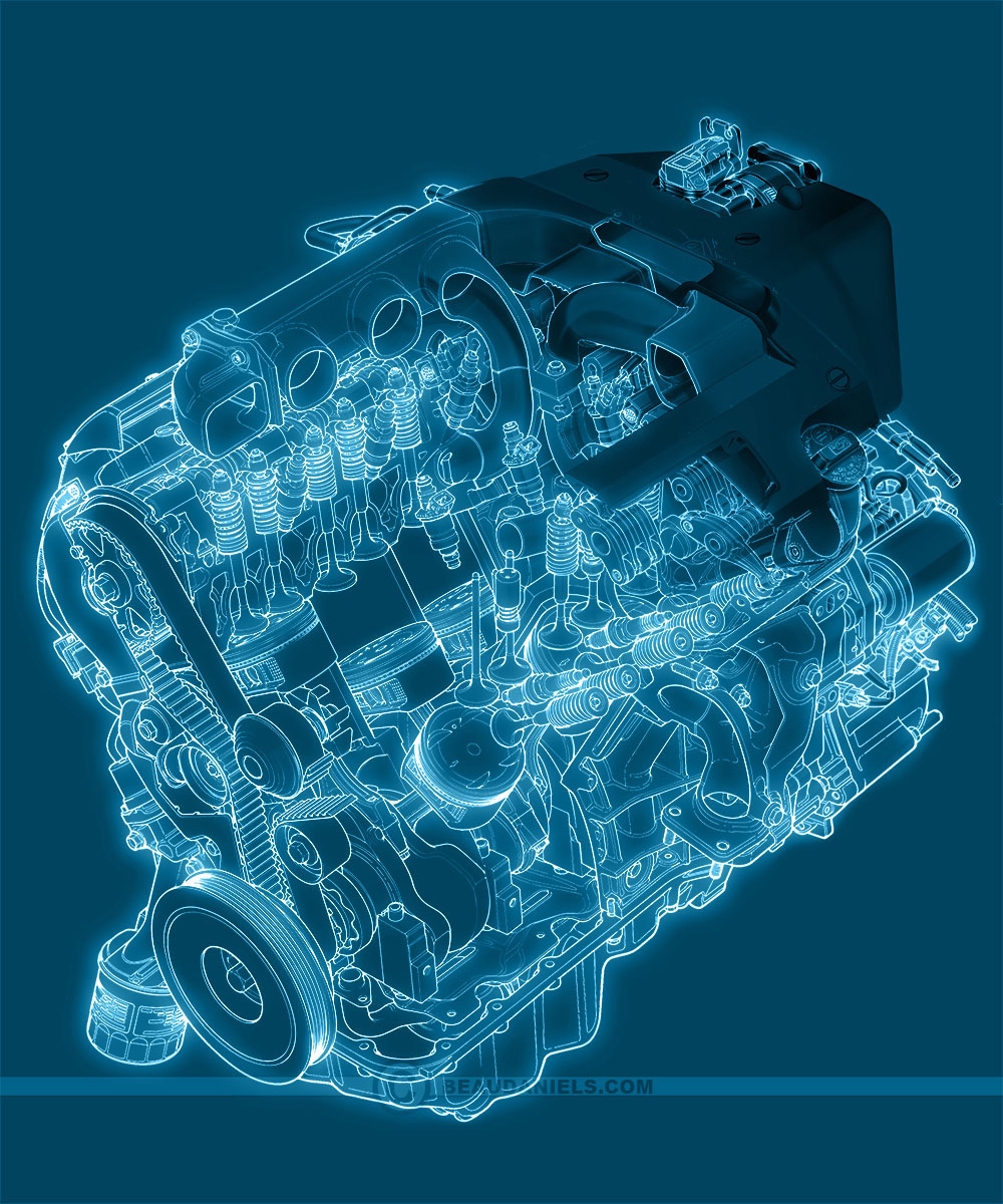 Generic Car Engines, Portfolio 3 On Behance
