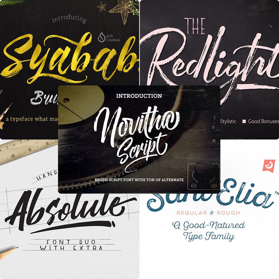 10 Free Premium Handwritten Script Font