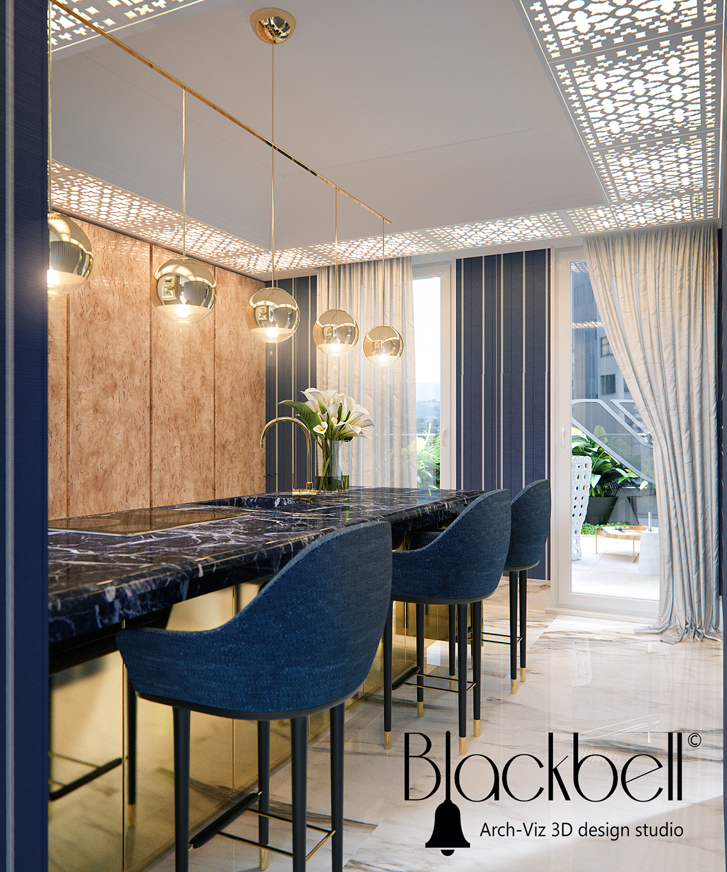Monaco 3d Visualizations Interior design ideas