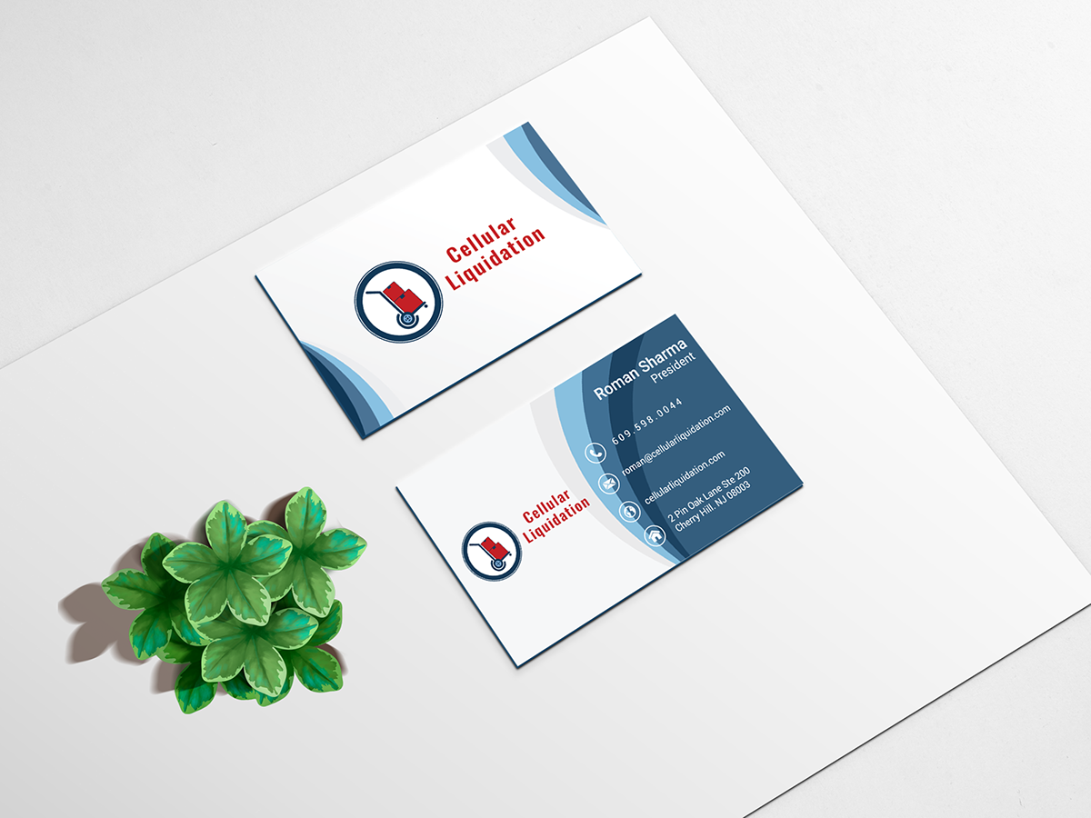 Branding identity for cellular liquidation on pantone canvas gallery business cards for cellular liquidation reheart Gallery