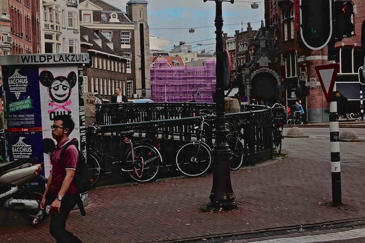 utrecht Netherlands Street Art  architecture Graffiti bicicles scribblings amsterdam warhol Kilroy