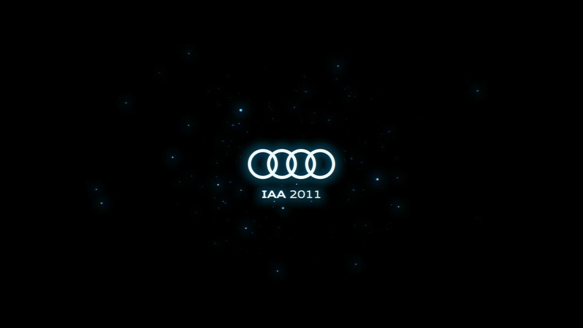 Audi connect international motor show motion graphics  IAA 2011
