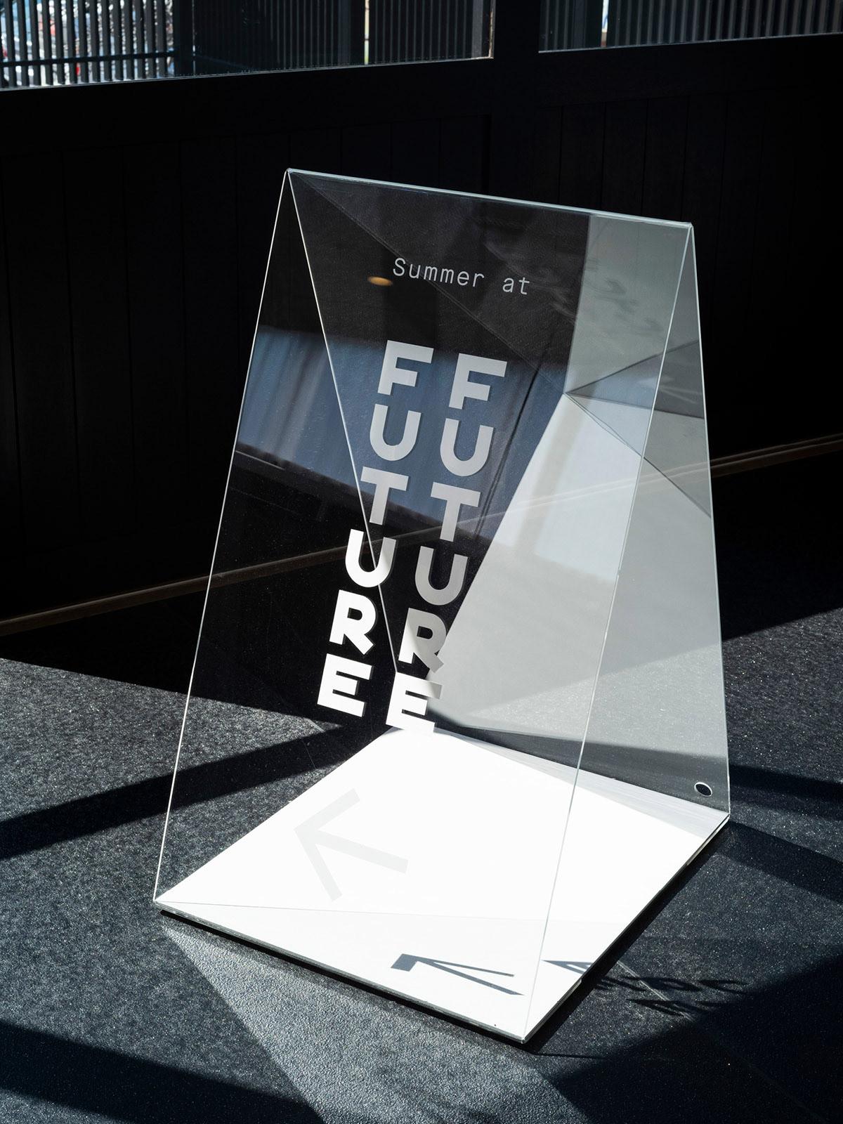 Brand Identity for Future Future, a moody & contemporary restaurant