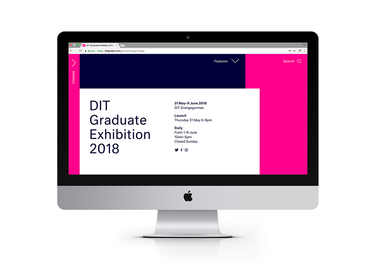DIT Graduate Exhibition 2018 on Student Show
