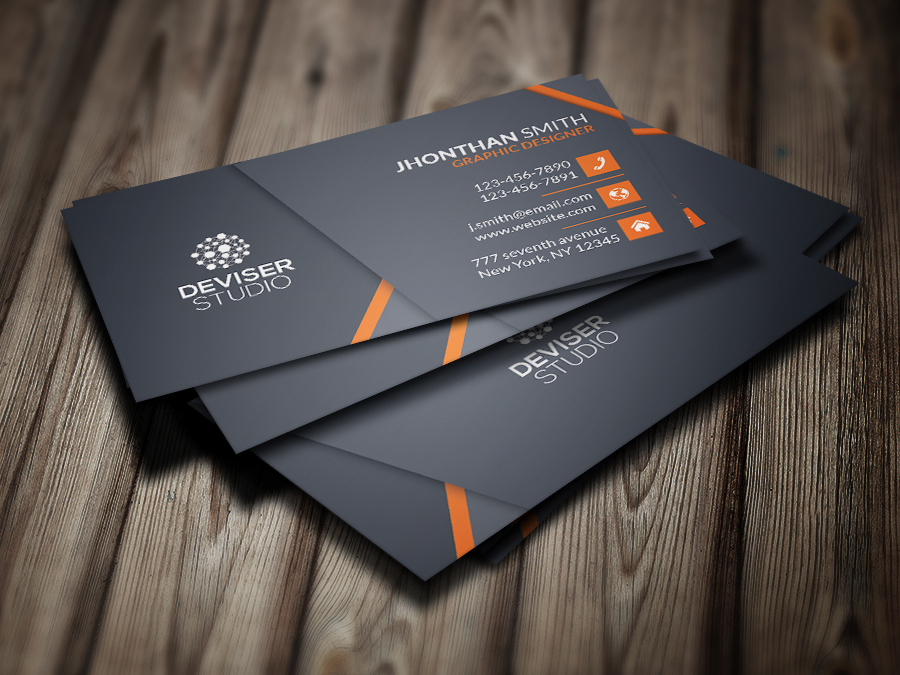 Business cards on behance for Make business cards staples