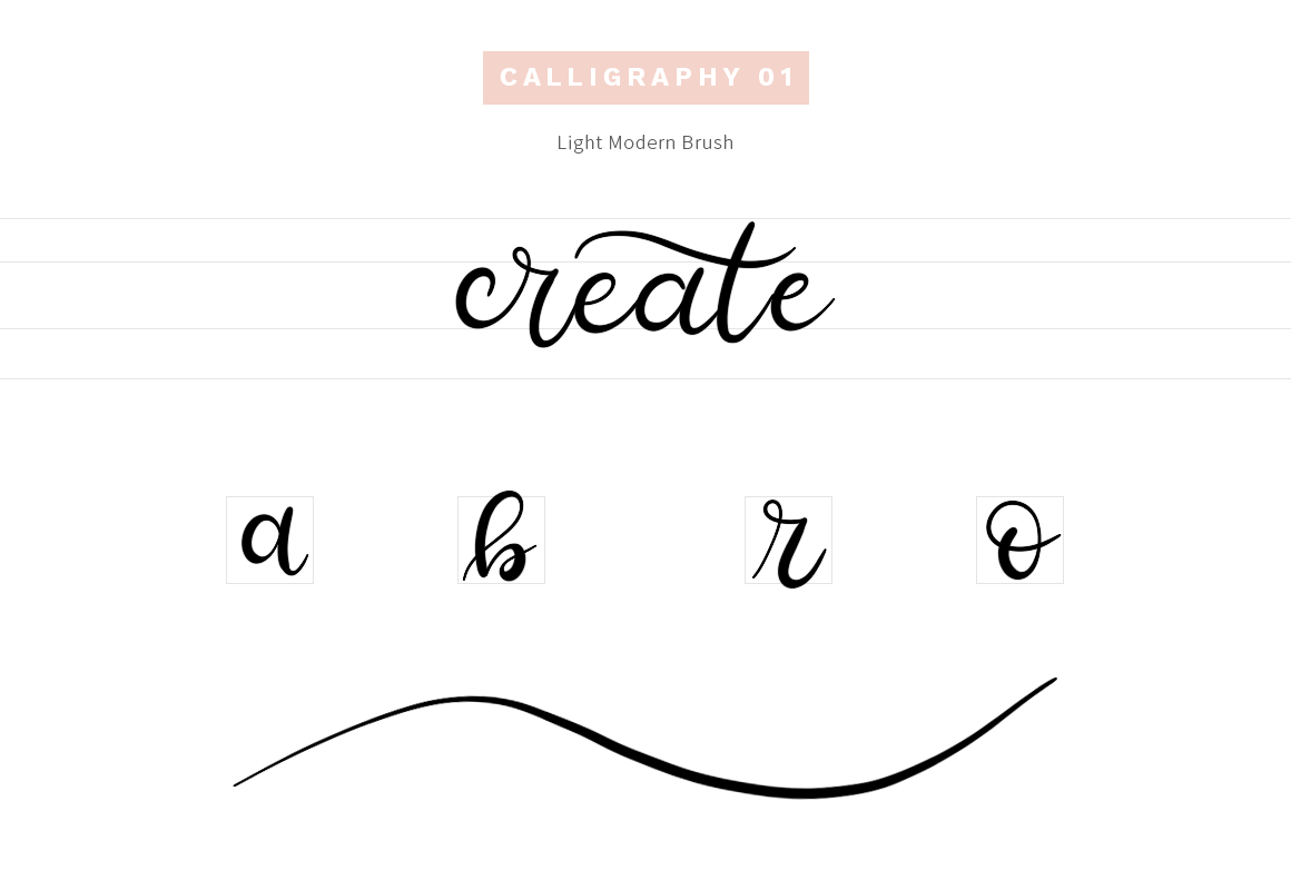 Sketchbook Brushes - 1 - Calligraphy on Behance