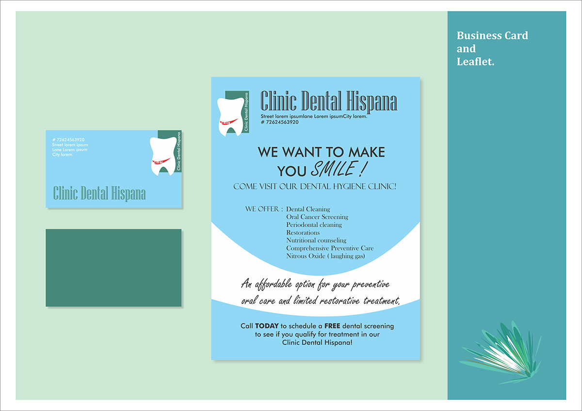 Dental Clinic Project on Behance