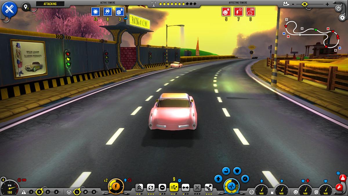 racer unity3D