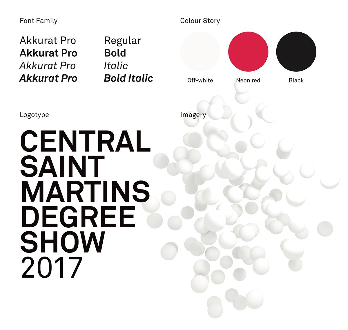 csm central saint martins degree show