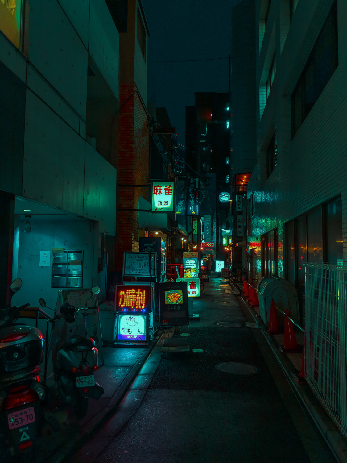 Osore Ichi-Kagetsu, Lightroom CC Presets inspired by Cyberpunk
