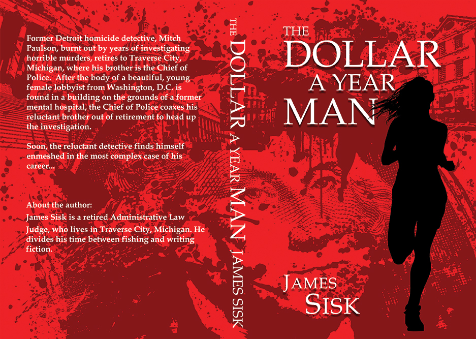 Book Cover Design: The Dollar a Year Man on Behance