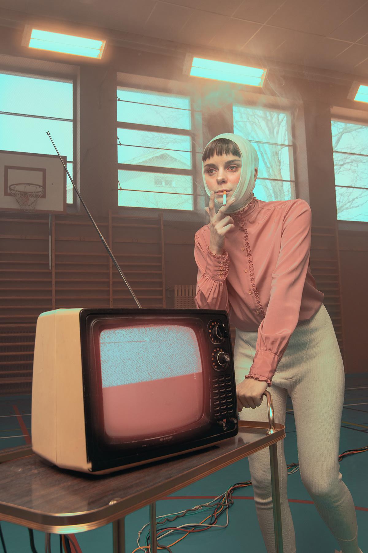 Photography  surrealism surrealist vintage Portraiture creative art direction  fine art