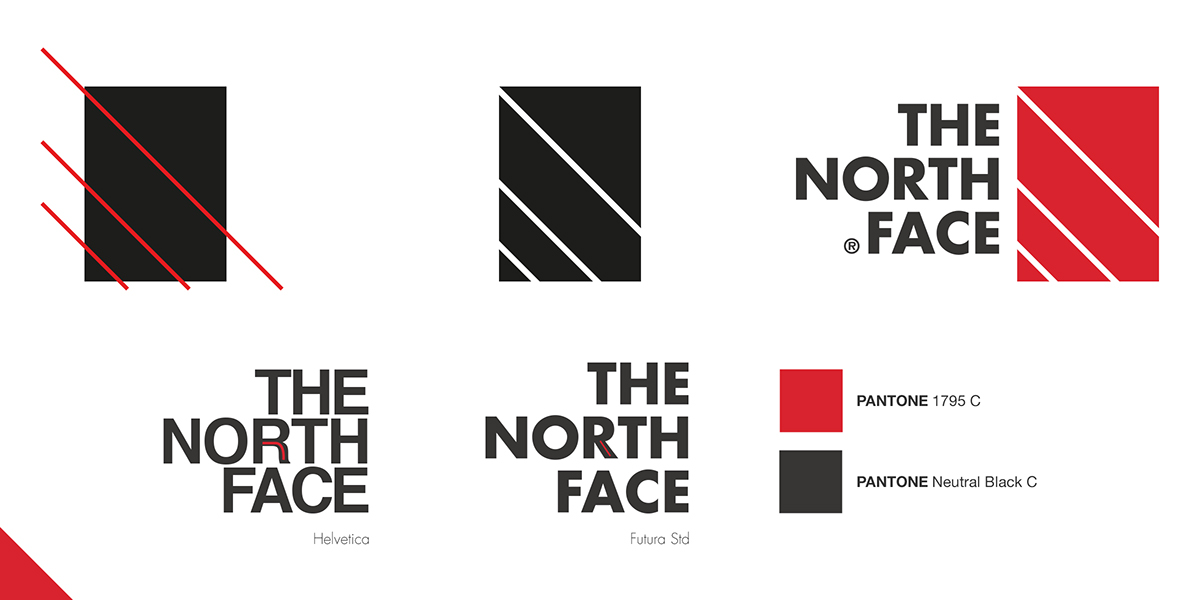 The North Face on Pantone Canvas Gallery