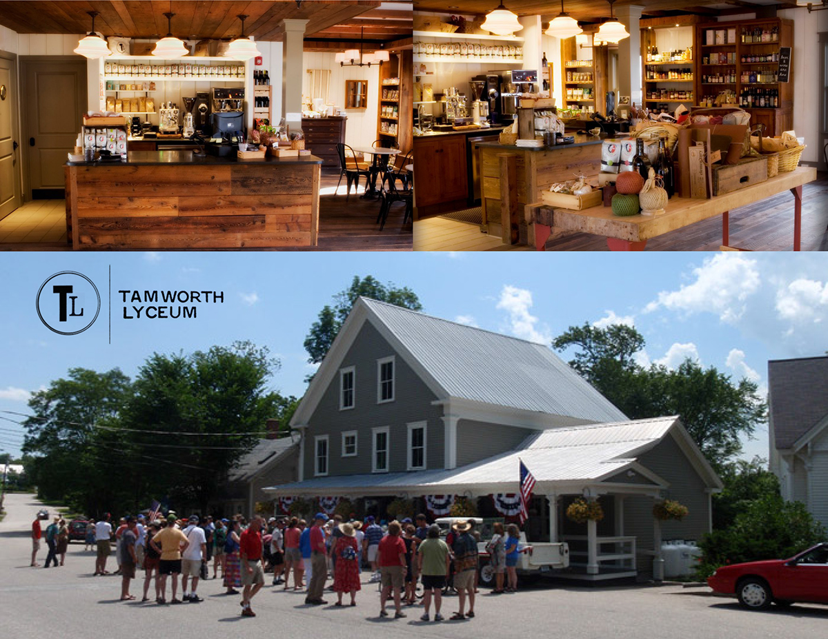 new hampshire lyceum Historic Preservation Historic Restoration general store