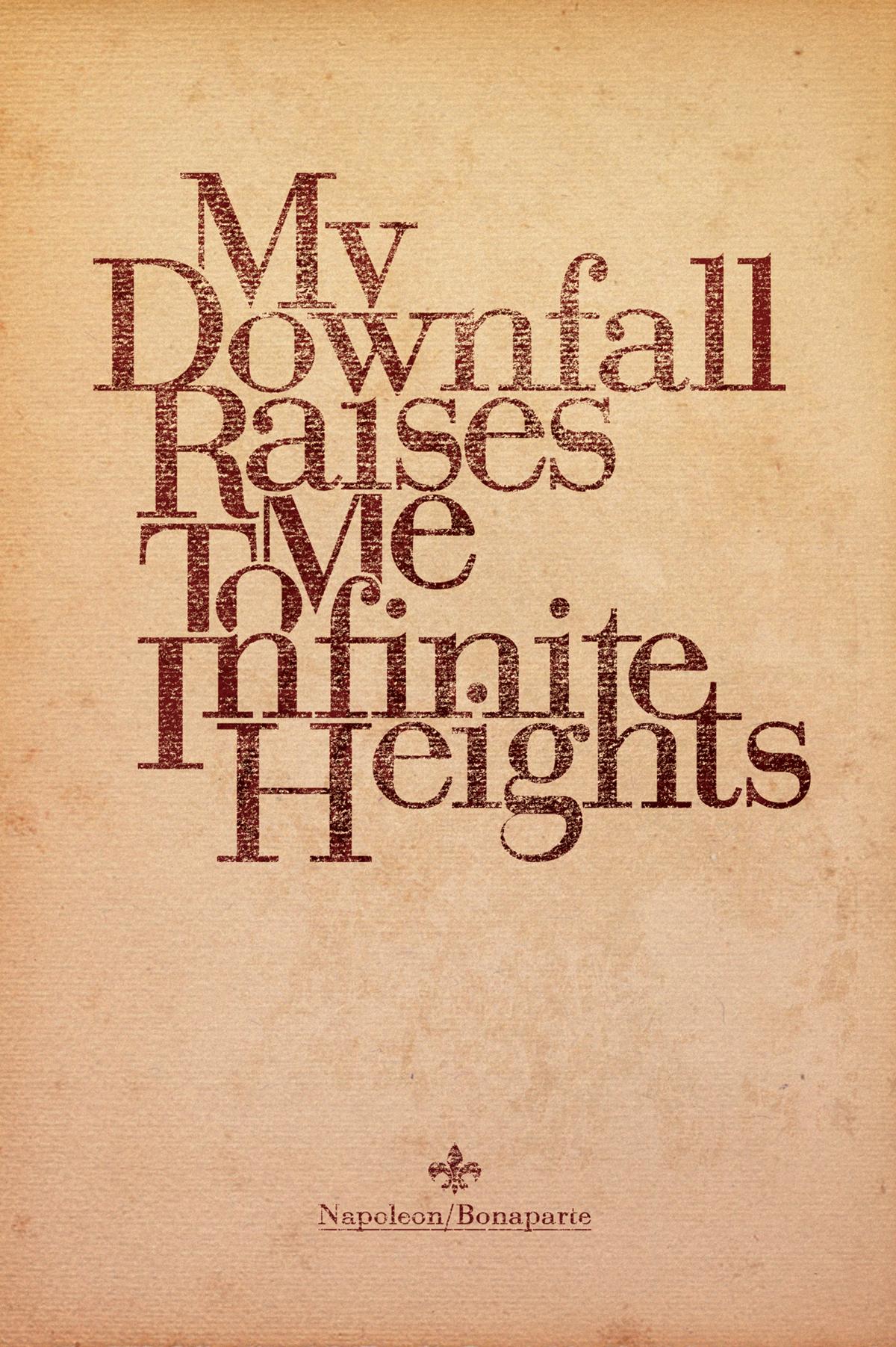 bodoni typographic poster serif inspirational