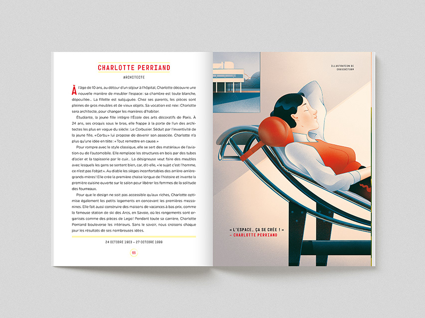 architecture artist book design impressionism LeCorbusier modernism painting   Woman Power