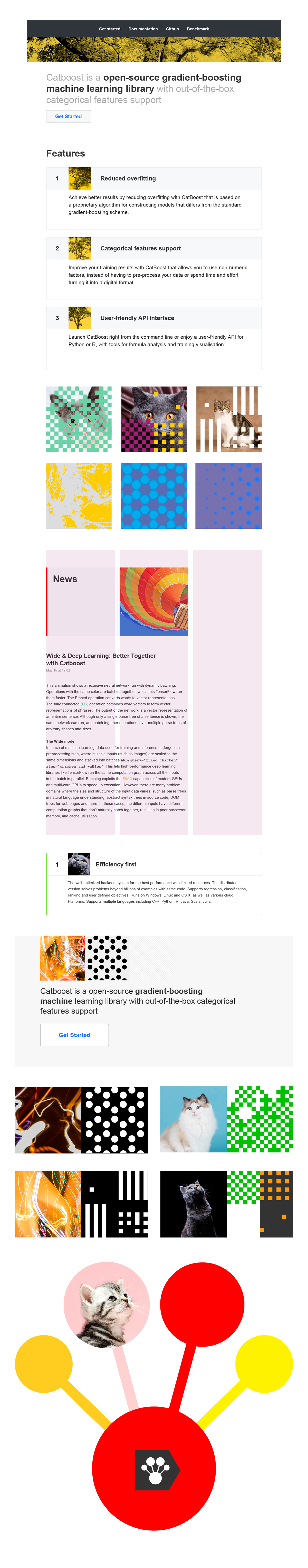 Yandex // CatBoost on Behance