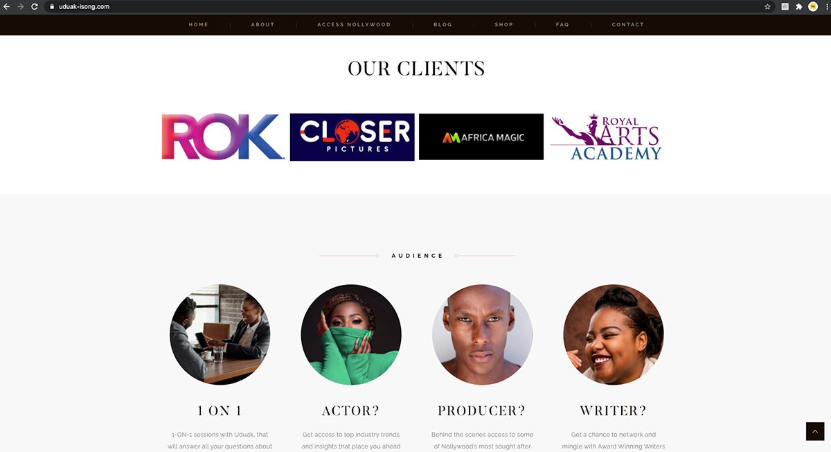 Adobe Photoshop TSG TSG THAT SMALL GIRL uduak isong web developer web development  website development wordpress Wordpress Website