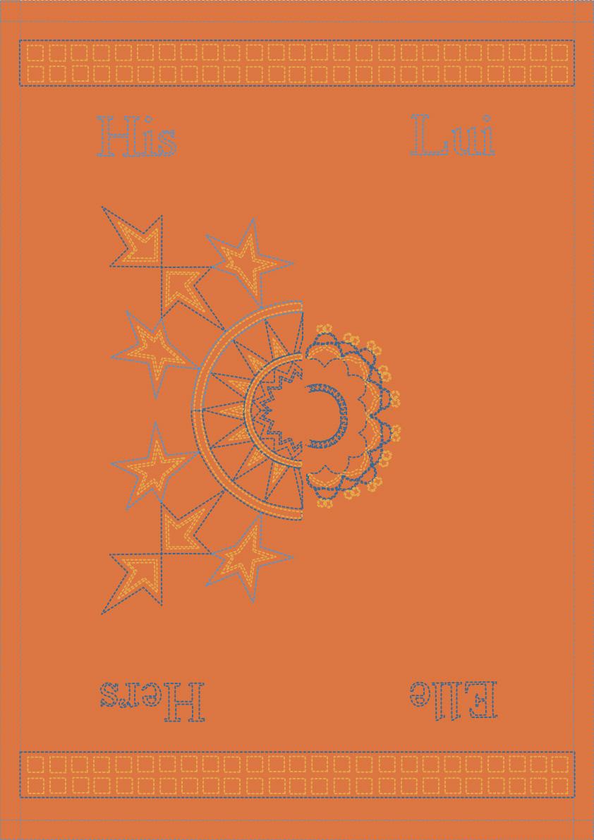 Islamic star pattern Greek embroidery pattern greek French elements silkscreen print