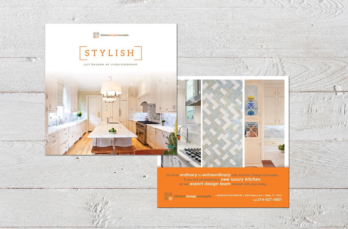 Kitchen Design Concepts High End Mailer On Behance