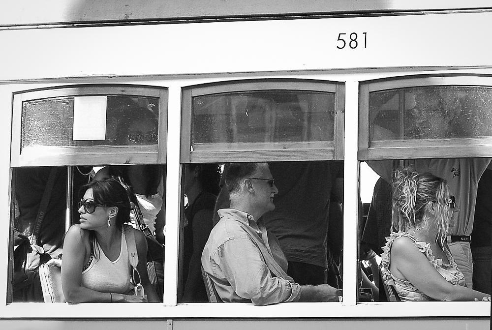 Tranvía 581. Lisboa, Portugal.