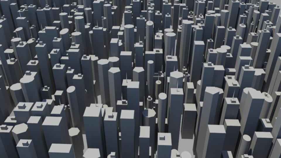 MEL Procedural City Generator on Behance