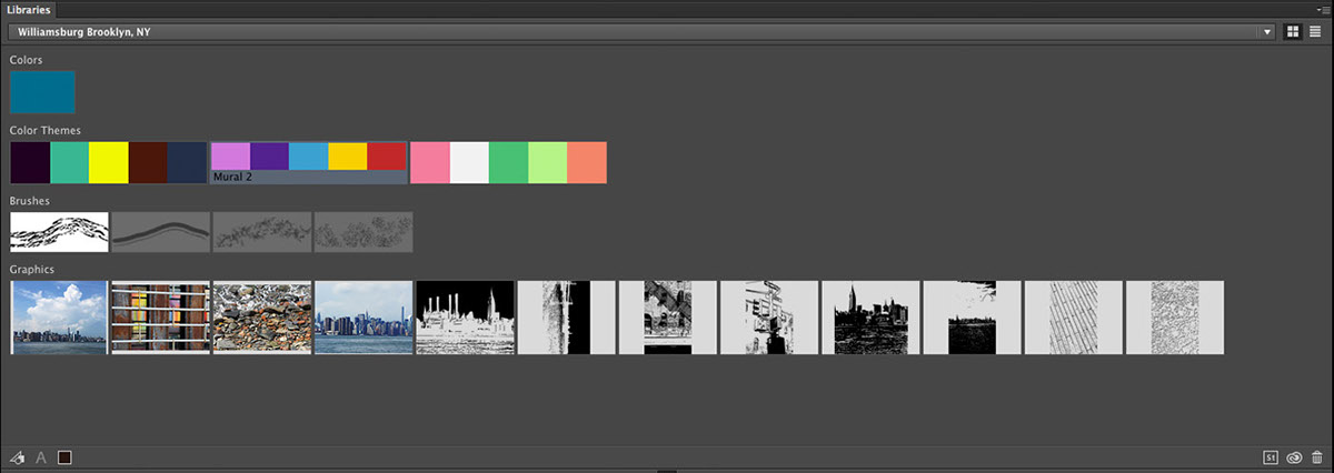 how to add to creative cloud library