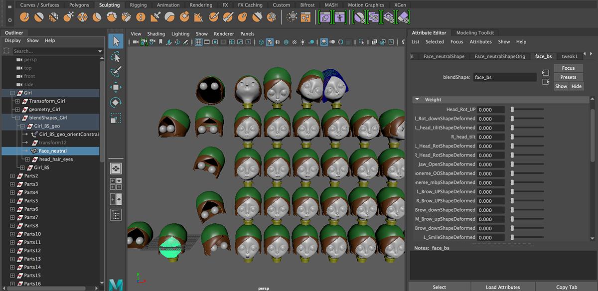 Secret Passageways with Avatar Faces (Unity + MoCap) on RIT