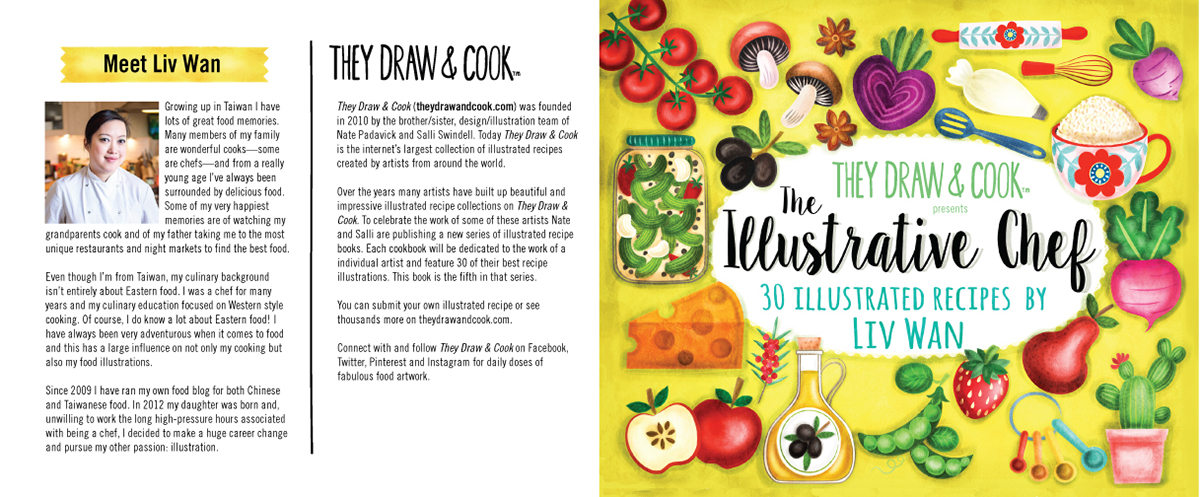 Illustrated cook book the illustrative chef on behance if youre interesting in purchasing any of the above or even if you would like me to make a recipe for you get in touch and ill see what i can do forumfinder Images