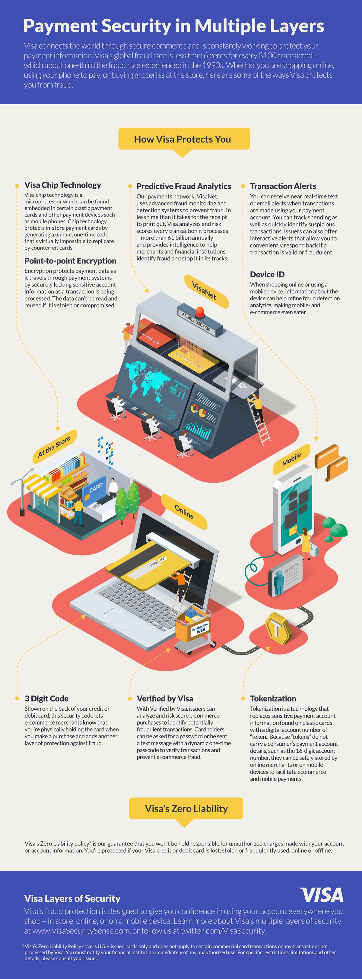 infographic instruction banking money Visa diagram Isometric