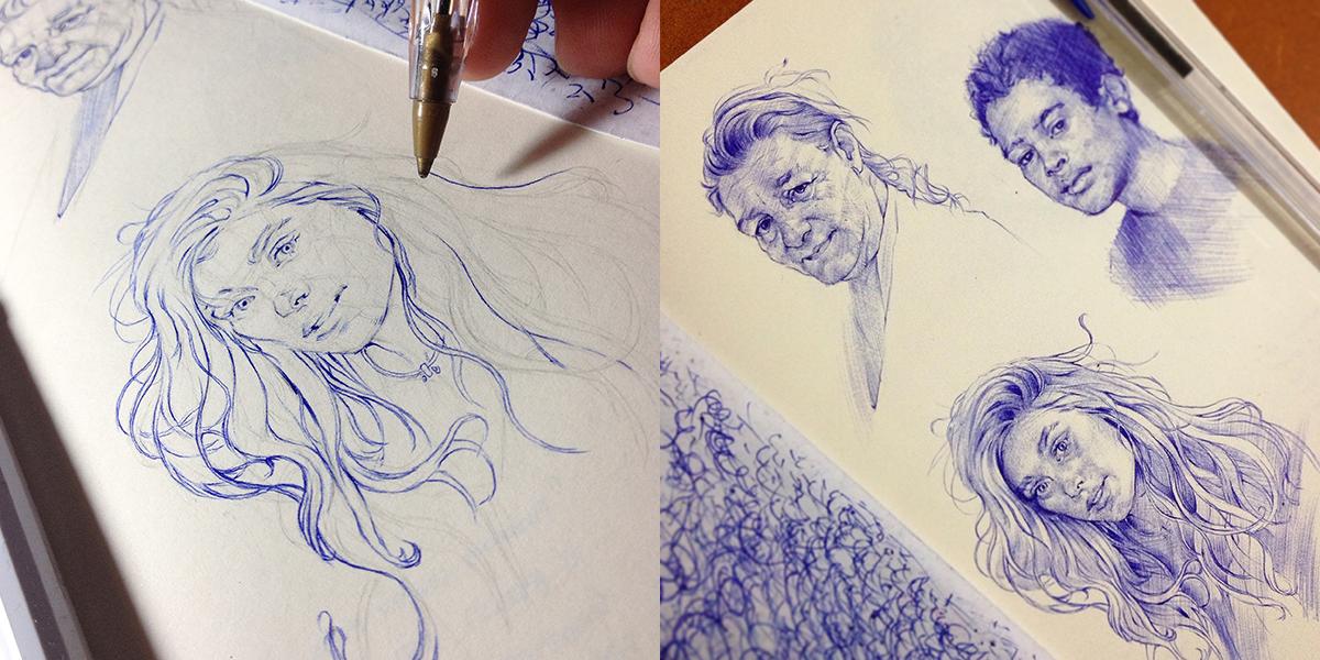 Thiago Moura Januario | Sketchbook #artpeople
