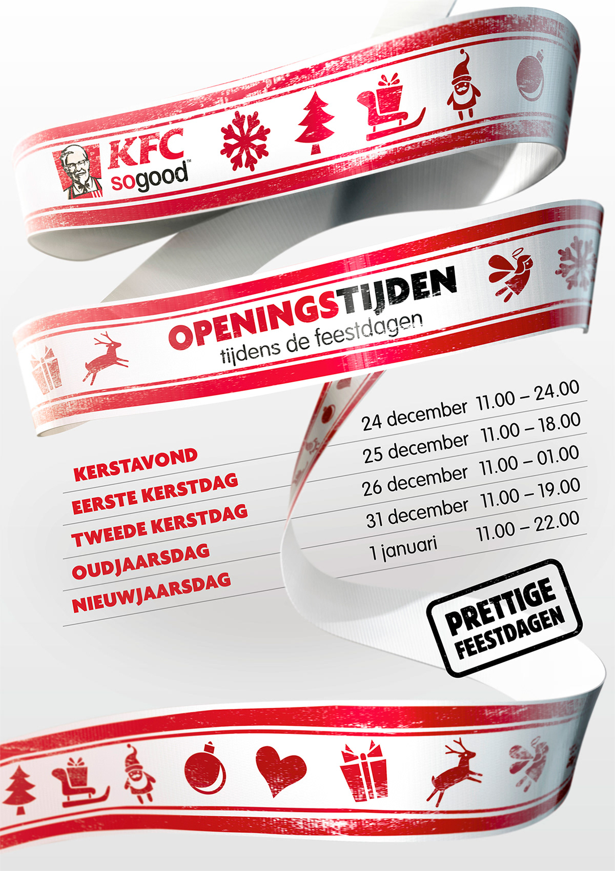 KFC: HOLIDAY POSTER on Behance