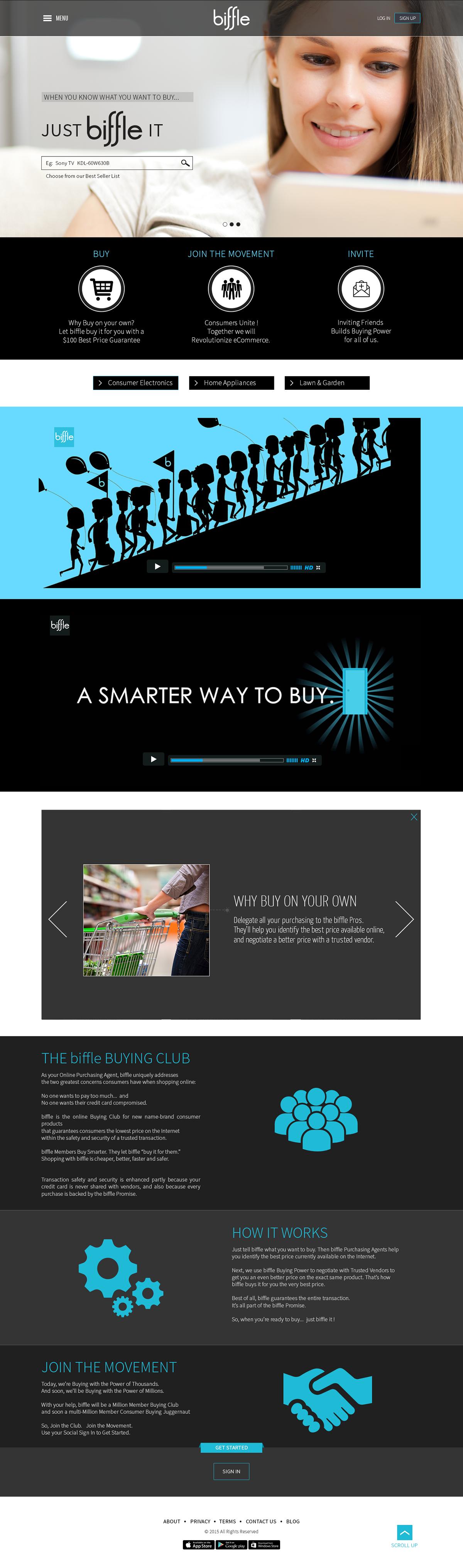 Biffle Web Template Design