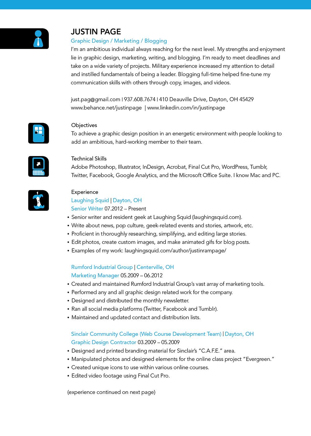 my resume 2012 on behance