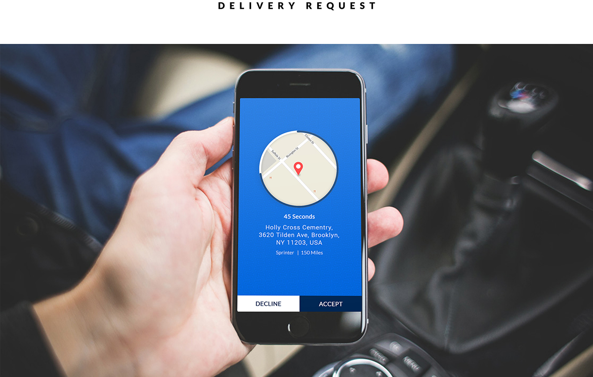 Truck, Car, Cab, Taxi Booking, Logistic App UI Designs on